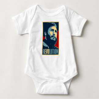 Fidel Castro - Cuban Revolution President of Cuba Baby Bodysuit