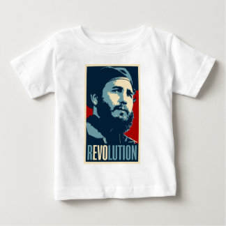 Fidel Castro - Cuban Revolution President of Cuba Baby T-Shirt