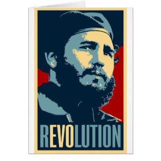 Fidel Castro - Cuban Revolution President of Cuba Card