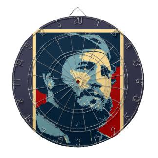 Fidel Castro - Cuban Revolution President of Cuba Dartboard