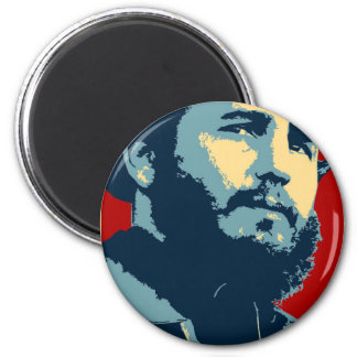 Fidel Castro - Cuban Revolution President of Cuba Magnet