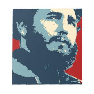 Fidel Castro - Cuban Revolution President of Cuba Notepad