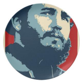 Fidel Castro - Cuban Revolution President of Cuba Plate