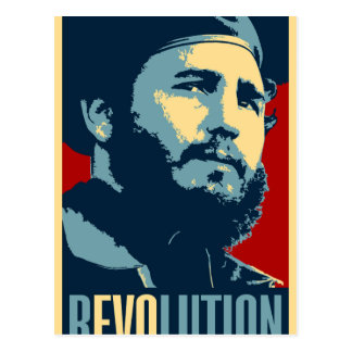 Fidel Castro - Cuban Revolution President of Cuba Postcard