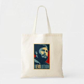 Fidel Castro - Cuban Revolution President of Cuba Tote Bag