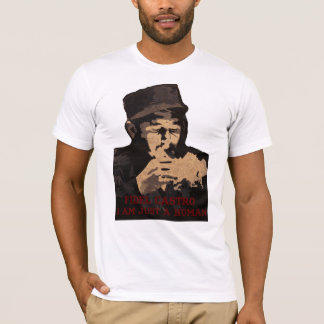 fidel castro i am only a human T-Shirt