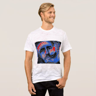 Fidel Castro Red and Blue T-Shirt