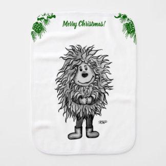 Fidel The Little Forest Goblin Burp Cloth