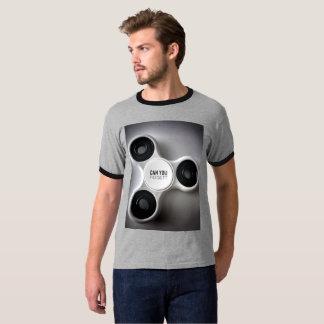 FIDGET is New black T-Shirt