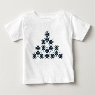 Fidget Spinner Pyramid Baby T-Shirt
