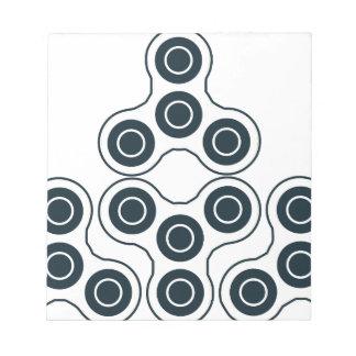 Fidget Spinner Pyramid Notepad