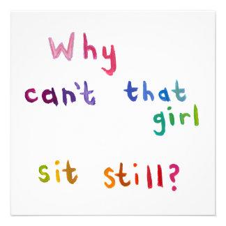 Fidgety girls can't sit still things to do fun art invite