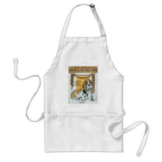 Fido Is A Hot Dog Now Vintage Songbook Cover Aprons