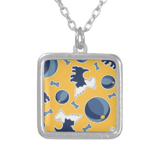 Fido! Silver Plated Necklace