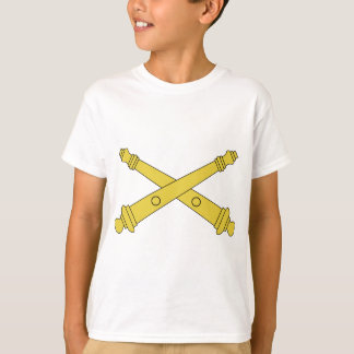 Field Artillery Insignia - Crossed Cannons T-Shirt