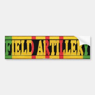 Field Artillery Vietnam Service Medal Sticker