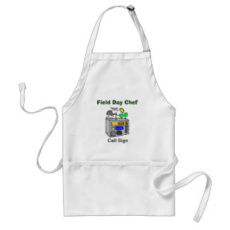 Field Day Chef Apron with Radio