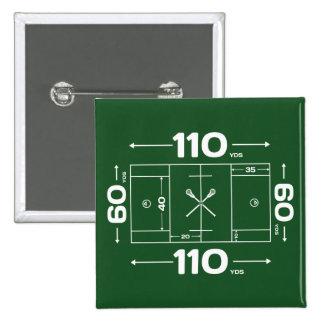Field Dimensions 15 Cm Square Badge