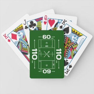 Field Dimensions Bicycle Playing Cards