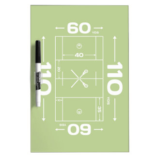 Field Dimensions Dry-Erase Whiteboard
