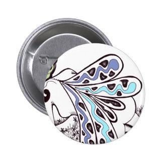 Field Fairy 6 Cm Round Badge