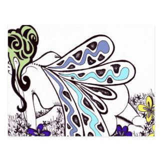 Field Fairy Postcard