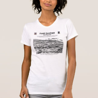 Field Geology I - Neotectonics and Topography T-Shirt