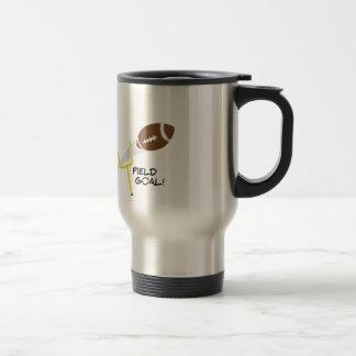 Field Goal Stainless Steel Travel Mug