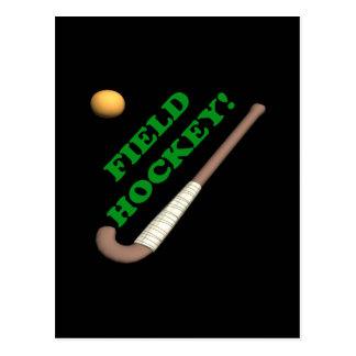 Field Hockey 2 Postcard