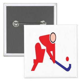 Field Hockey 5 Button