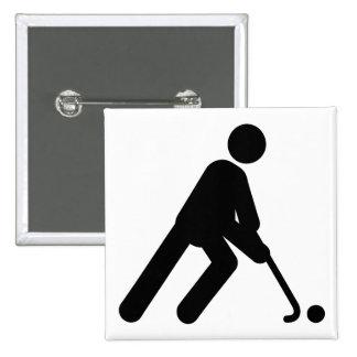 Field Hockey Buttons