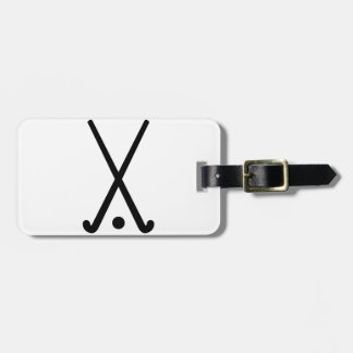 Field hockey clubs ball tag for luggage