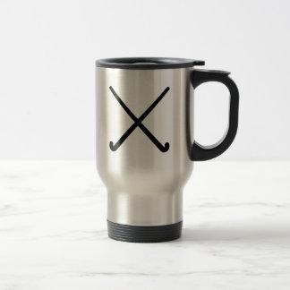 Field hockey clubs coffee mugs