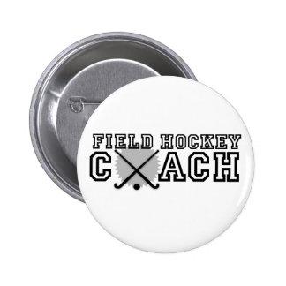 Field Hockey Coach Pinback Buttons