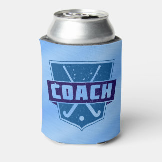 Field Hockey Coach Shield Can Cooler