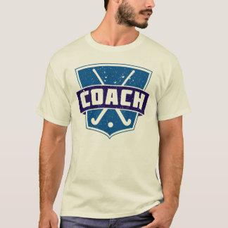 Field Hockey Coach Shield T-Shirt