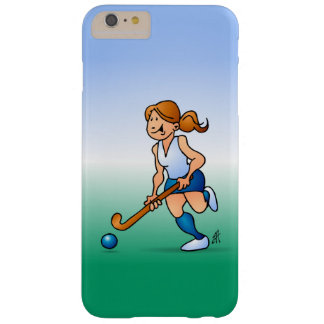 Field  hockey girl barely there iPhone 6 plus case