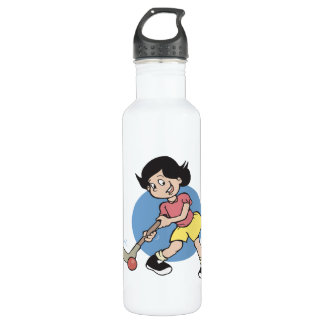 Field Hockey Girl Player 710 Ml Water Bottle