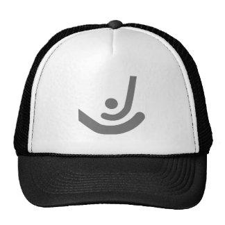 Field Hockey  Gray sticks & ball Logo Hat