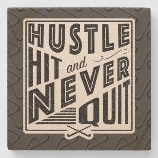 Field Hockey Hustle, Hit & Never Quit Coaster
