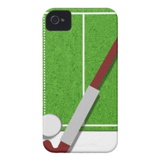 Field Hockey iphone 4 barely there QPC template iPhone 4 Cover