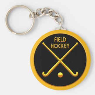 Field Hockey Key Ring