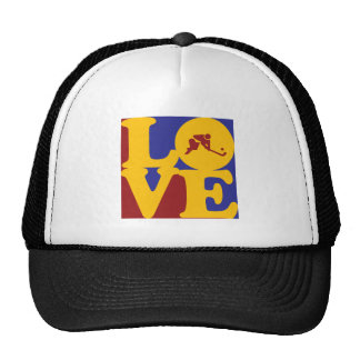 Field Hockey Love Trucker Hats