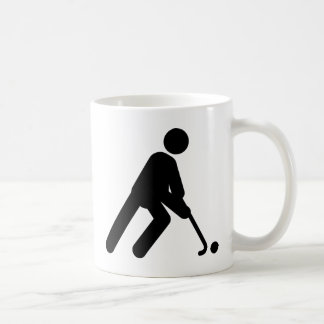 Field Hockey Basic White Mug