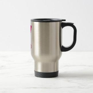 Field Hockey Pink ball stick Coffee Mug