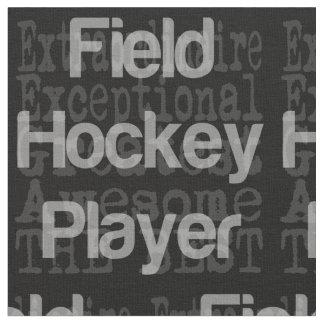 Field Hockey Player Extraordinaire Fabric