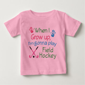 Field Hockey Player (Future) Baby T-Shirt