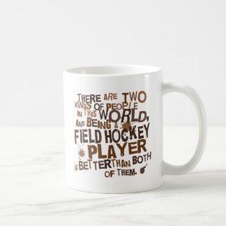 Field Hockey Player Gift Basic White Mug