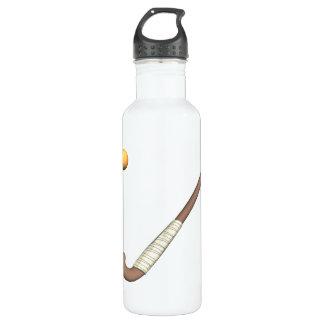 Field Hockey Stick & Ball 710 Ml Water Bottle