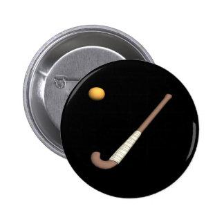 Field Hockey Stick & Ball Pin